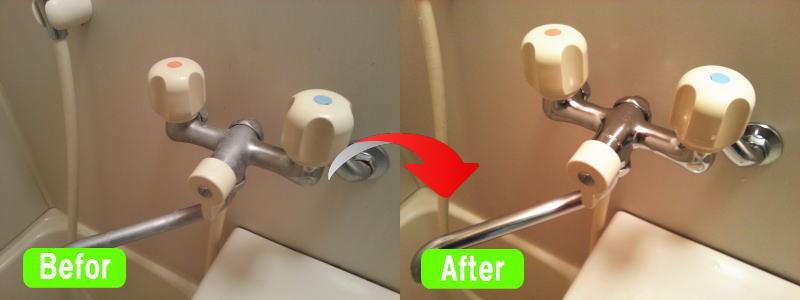 浴室クリーニング事例3