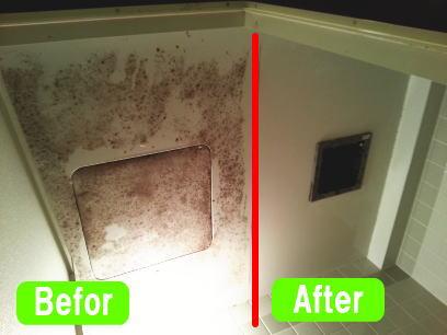 浴室クリーニング事例4