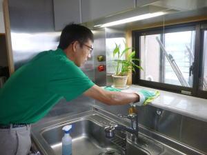 キッチンクリーニングの例